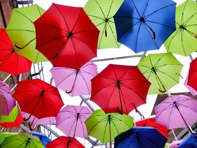 umbrellas too