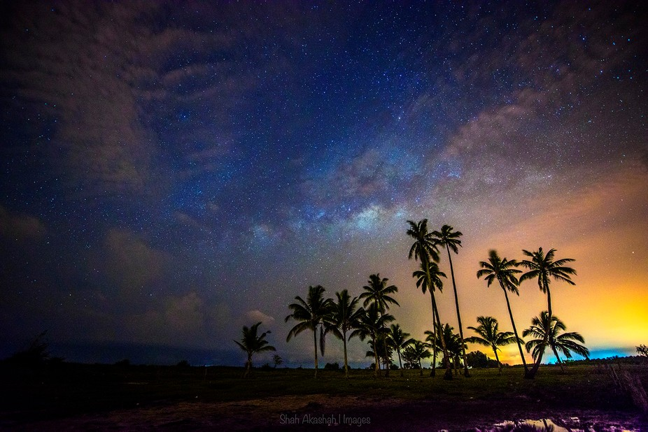 As The Milkyway Rise