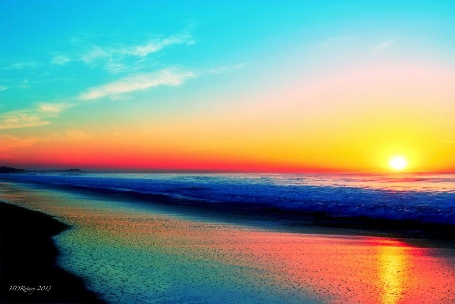 Sea of Cortez Sunrise