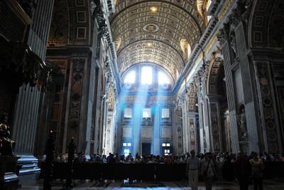 Light in St. Peter