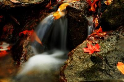 Waterfall Gatineau Park, Chelsea QC