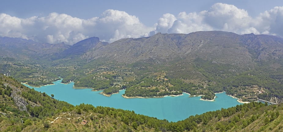 Lake Guadalest