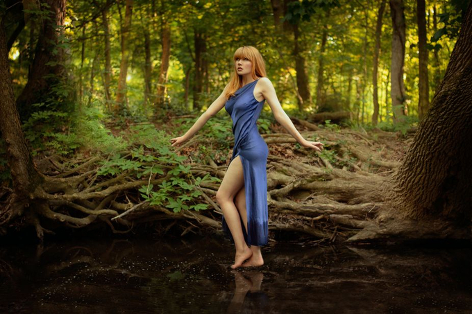 Water Walker by lauradark - Divine Forests Photo Contest
