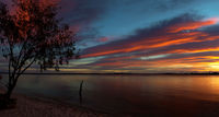 Sunrise over Bribie by capeyork