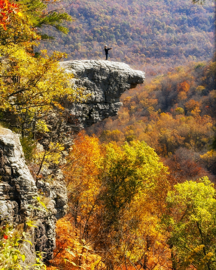 Hawksbill Crag by KKGivens - Standing At The Edge Photo Contest