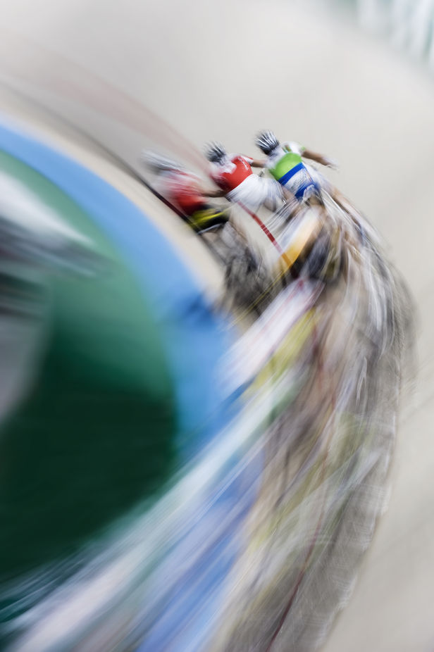 The race by chris-herzog - Blurred Subjects Photo Contest