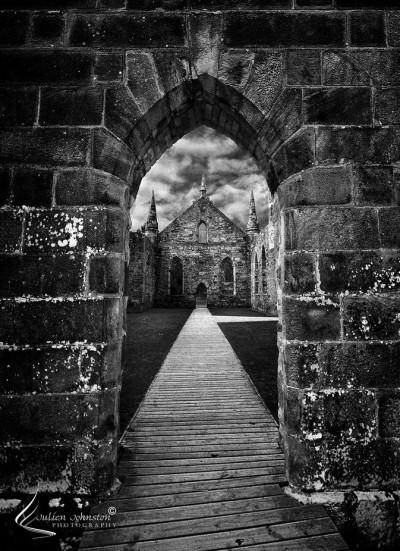 Port Arthur Church Ruin