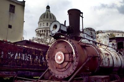 Atrás del Capitolio,Habana Cuba