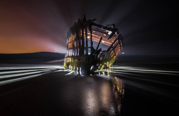 Shipwreck Awakening by Zeattle - Ships And Boats Photo Contest
