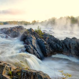 Great Falls National Park on the Potomac River
