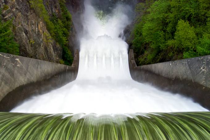 Cleveland Dam Falls by kenmcall - Clever Angles Photo Contest