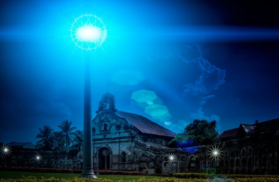 ARTWORK: Nagcarlan Underground Cemetery, A National Heritage/Treasure...