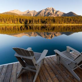 Sunrise at Patricia Lake, Jasper National Park, Alberta, Canada