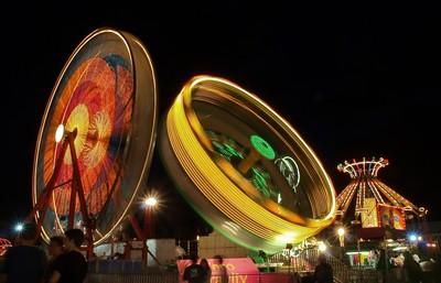 Rides At The County Fair