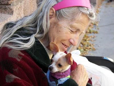 Frieda With Her Friend