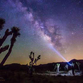 Taken during a new moon in Joshua Tree, Ca  Check out my FB Page  www.facebo...