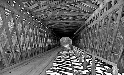 Lattice Covered Bridge