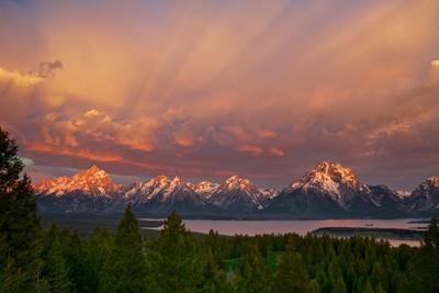 Majestic Morning - Grand Tetons National Park, Wyoming
