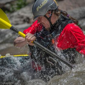 Lief Anderson for Fluid Kayaks in Salida Colorado