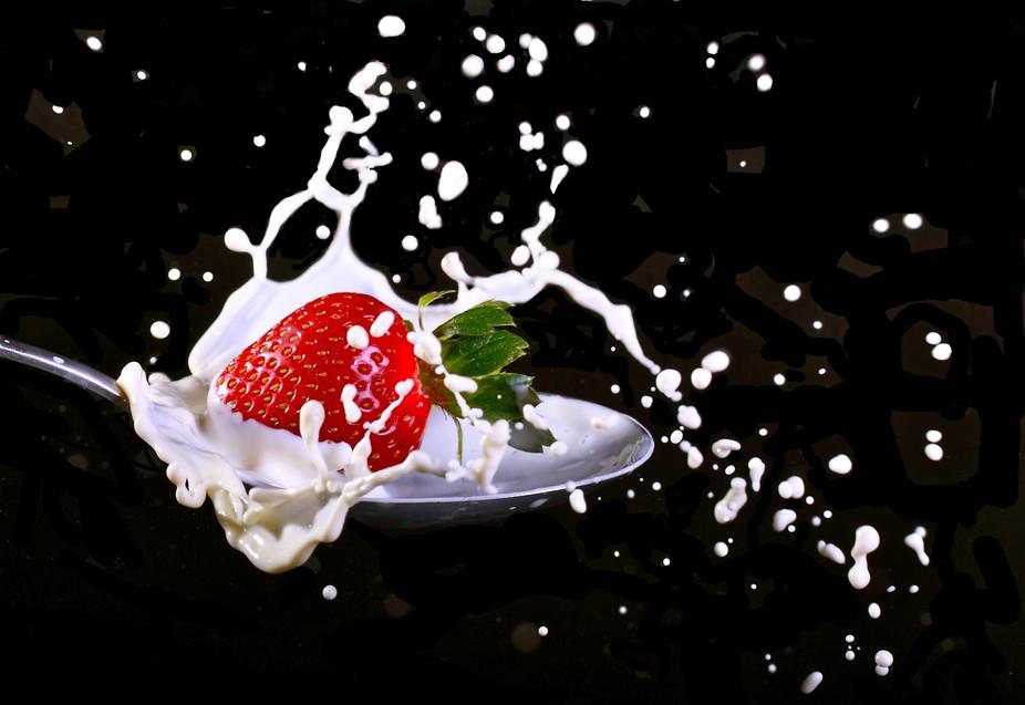 Strawberry Drop