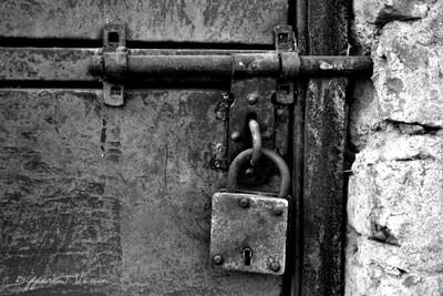 Locked and forgotten.