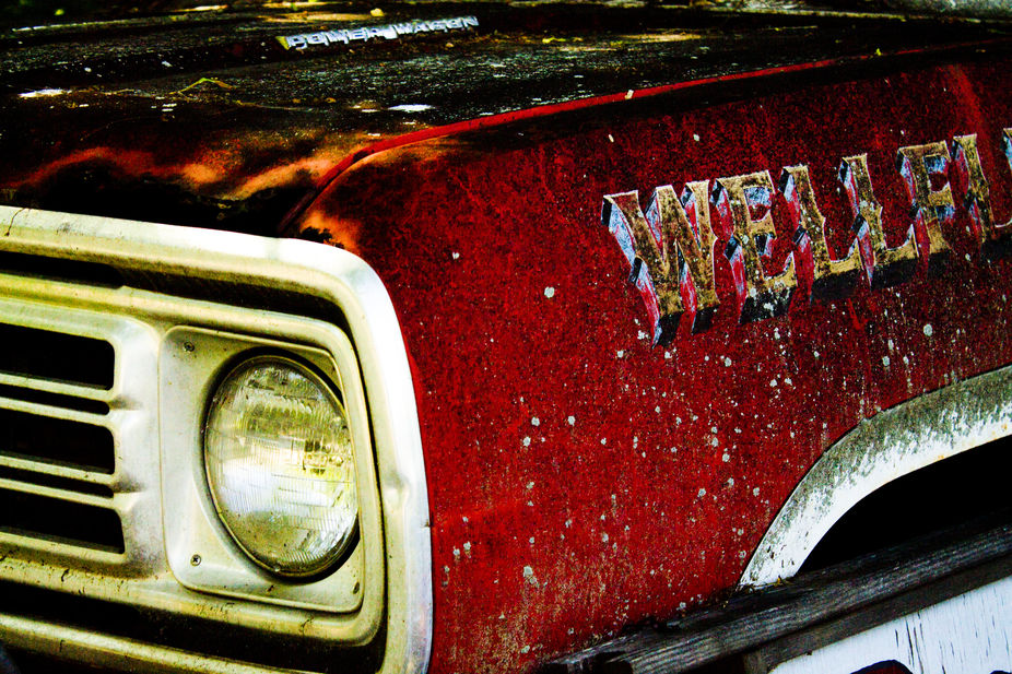 The Rose Family is a very old family in Wellfleet, MA.  This truck is part of their very old Auto...
