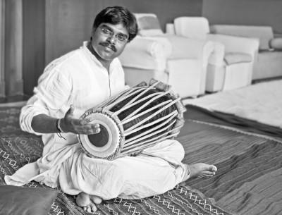 Hanumant Ghadge Tabla accompaniment at private party