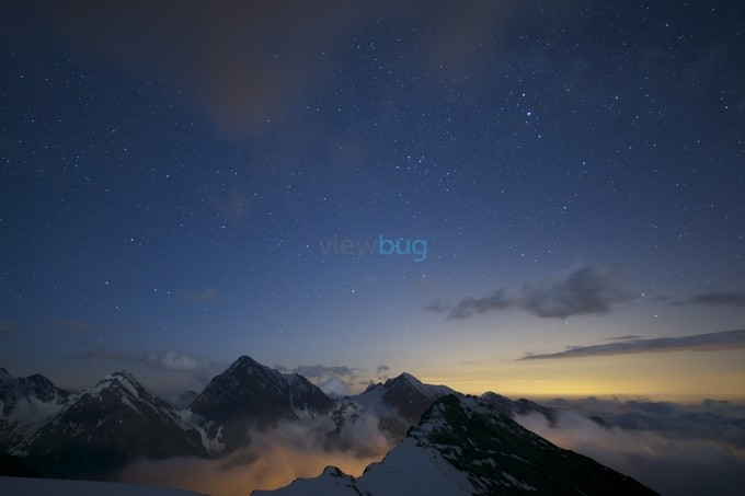light.... over the ridge by Photography_M_M_Holusza - Our World At Night Photo Contest