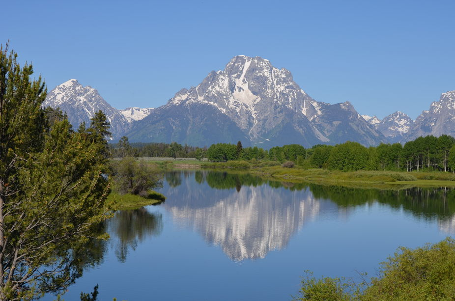 Teton Lake Reflection
