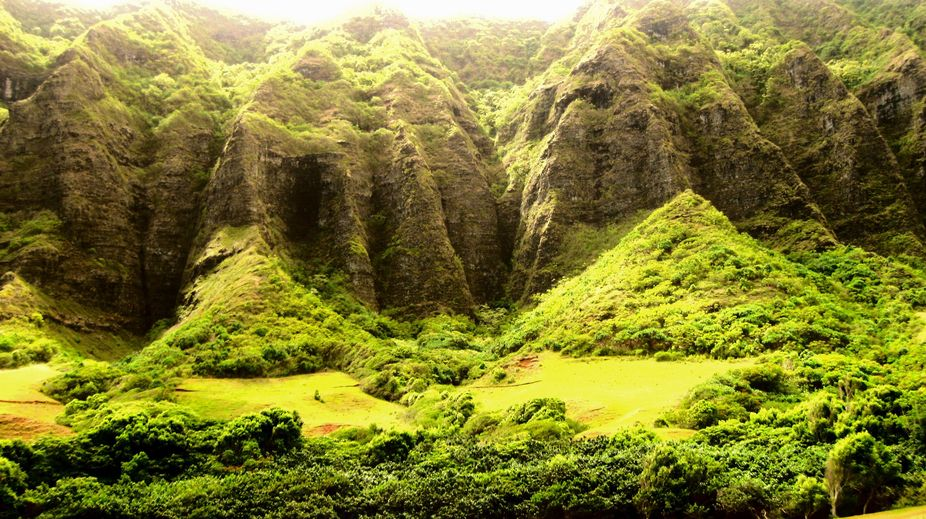 Taken in Oahu, Hawaii at the Kualoa Ranch.