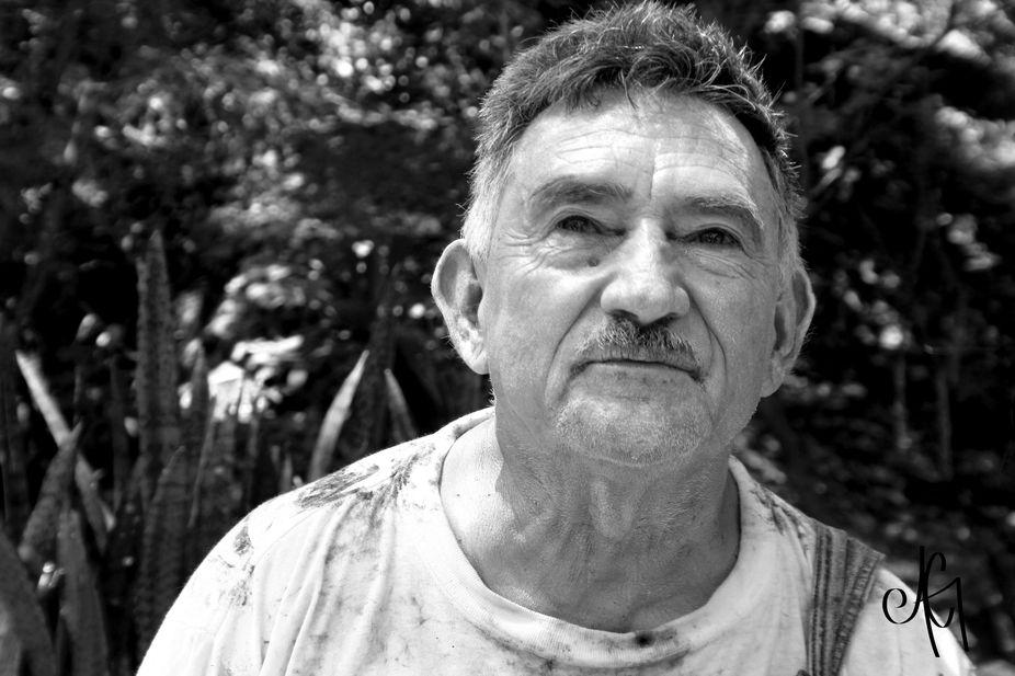 Oldworker portrait