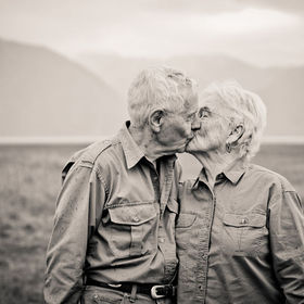 Celebrating their 70th Wedding Anniversary. This photo was taken in a very small town called Hope, Alaska. How ironic really for those of us who ...