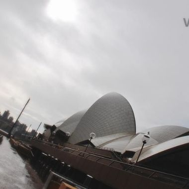 A Wet Day At The Sydney Opera House