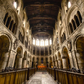 The Priory Church of Saint Bartholomew the Great in the City of London. Founded in 1123 and in continuous use since 1143. Inspiration: the sheer ...