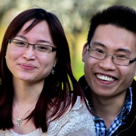 Vietnamese couple who are my neighbours, Tom (Female) is 18 and Danny is 19 these facial expressions are default for these two lovely people