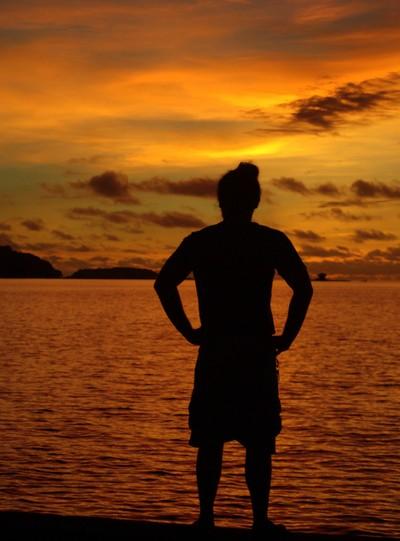 raph @ tdock sunset