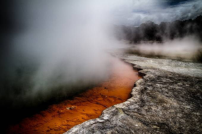 Champagne Pool by PaulPersys - Adventure Land Photo Contest Outside Views