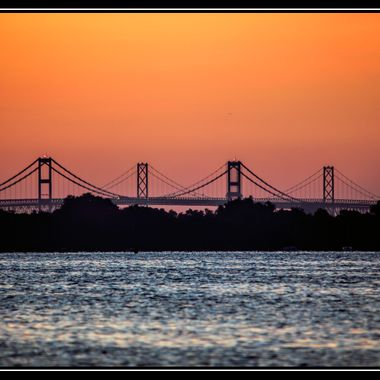 Chesapeake Bay Bridge from Annapolis City Pier