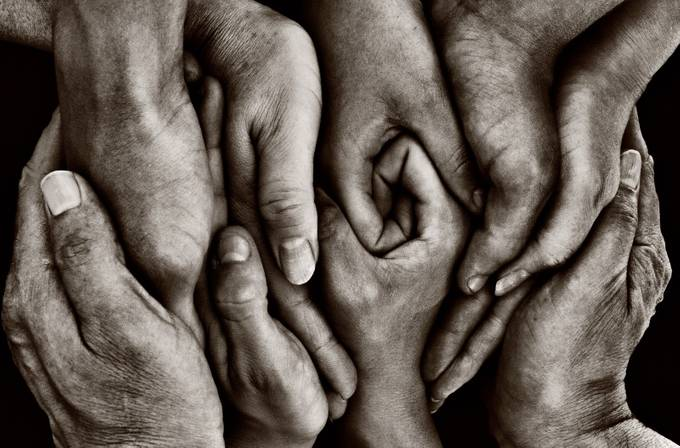 We Are Family..... by sandracockayne - Shooting Hands Photo Contest
