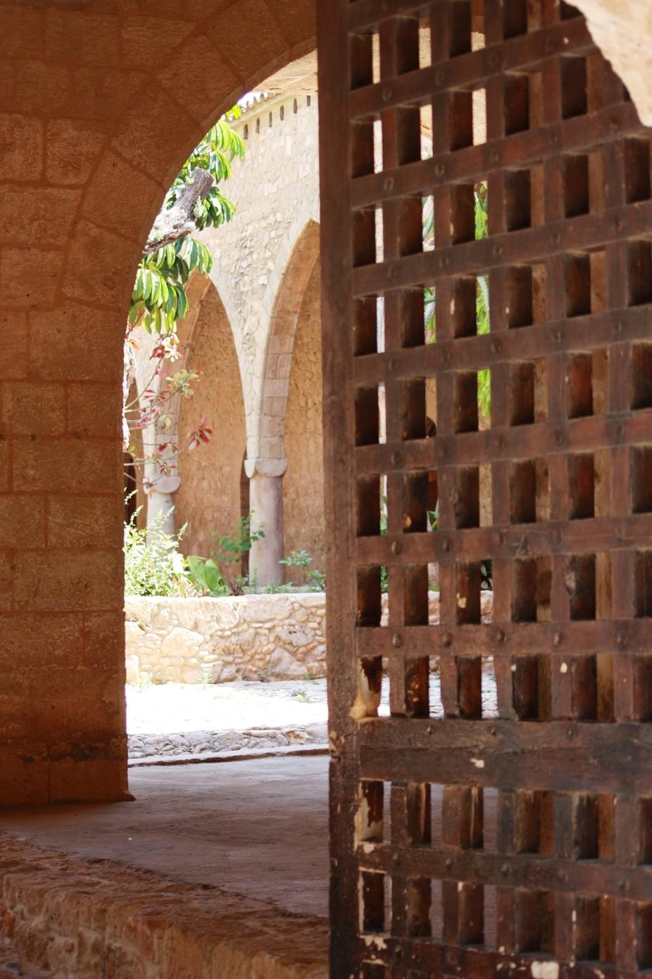 Cypriot Church walkway.