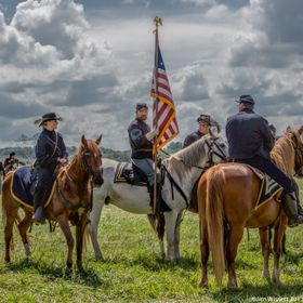 150th Anniversary Battle of Gettysburg, Re-enactment