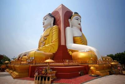 Back to Back Buddha