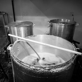 Brew day at Our Mutual Friend Malt & Brew (Feb. 2013)