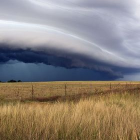 Amazing storm line coming through