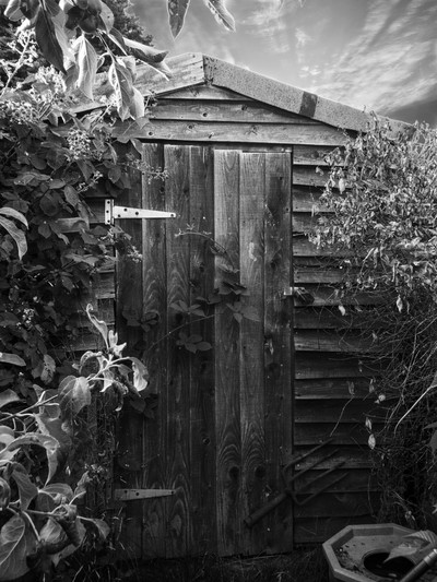 The Magical Shed (Black & White)