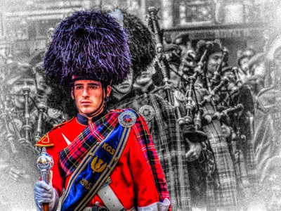 Pipe Band Leader