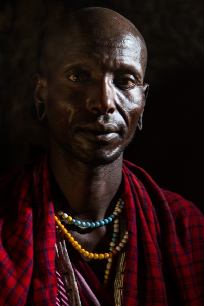 Proud Maasai - Stephen Powell Wildlife Artist