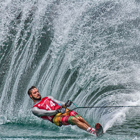 Matteo Luzzeri - one of the Top 20 slalom skiers in the world at the Fischlham Slalom Cup in Austria.    <a href=