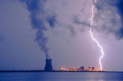Lightning and Salem Power Plant