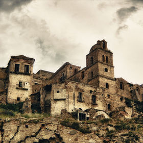 Craco the ghost town.